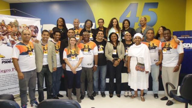 Representantes de 22 estados, reunidos em Belo Horizonte, escolheram nova a diretora do futuro Secretariado Nacional da Militância Negra do PSDB, o Tucanafro