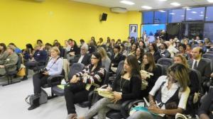 O seminário foi realizado no auditório do PSDB-MG, em Belo Horizonte