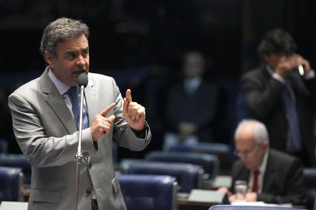 Para o senador Aécio Neves, o que foi feito pelo diplomata brasileiro sediado na Bolívia foi um gesto humanitário. Foto George Gianni