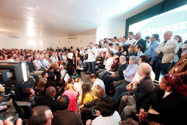 Os encontros regionais serão realizados pelo PSDB até o final do ano para discutir problemas e elaborar propostas a serem apresentadas à população pelo partido. Foto Orlando Brito