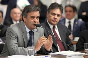 Senador Aécio Neves (PSDB-MG). Foto George Gianni