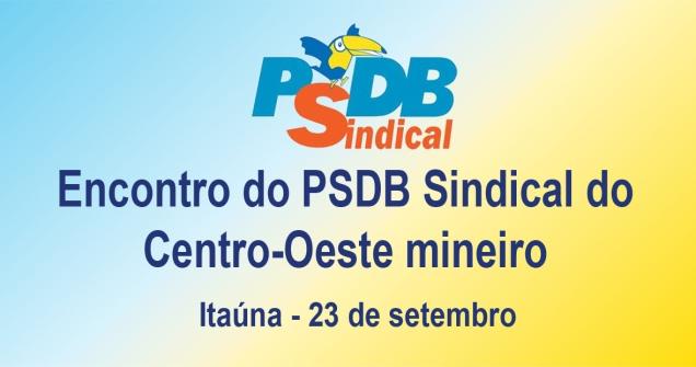 Encontro PSDB Sindical - Itauna