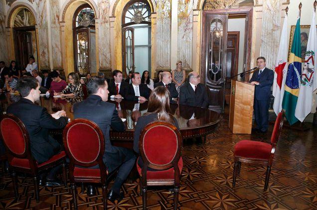 Anúncio foi feito pelo governador Antonio Anastasia no Palácio da Liberdade. Foto Lucia Sebe