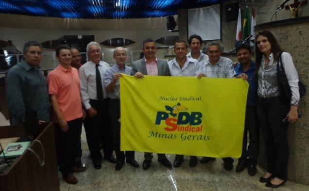A Coordenadoria da Região Centro-Oeste de Minas Gerais do PSDB Sindical foi criada em Itaúna