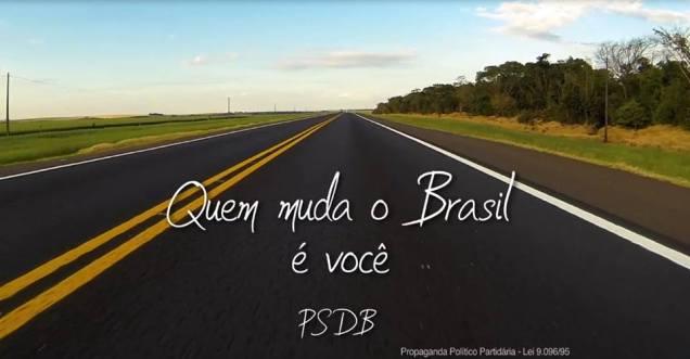quem muda o Brasil é você