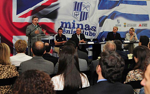 Minas Gerais sai na frente e é o primeiro no Brasil a ser escolhido para receber uma delegação que participará das Olimpíadas. Foto Omar Freire / Imprensa MG