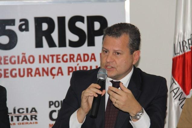 Secretário Rômulo Ferraz destaca ações que estão sendo realizadas para enfrentar a criminalidade em todo o Estado