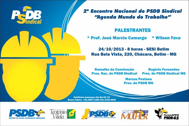 Convite PSDB Sindical