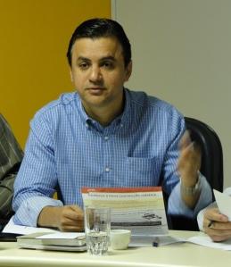Rogério Fernandes, presidente do PSDB Sindical de Minas Gerais