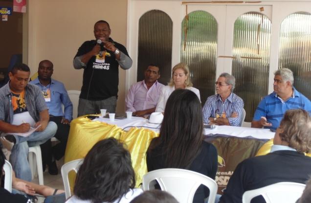 O Presidente Nacional do Tucanafro, Juvenal Araújo, participou do evento em Natal (RN)