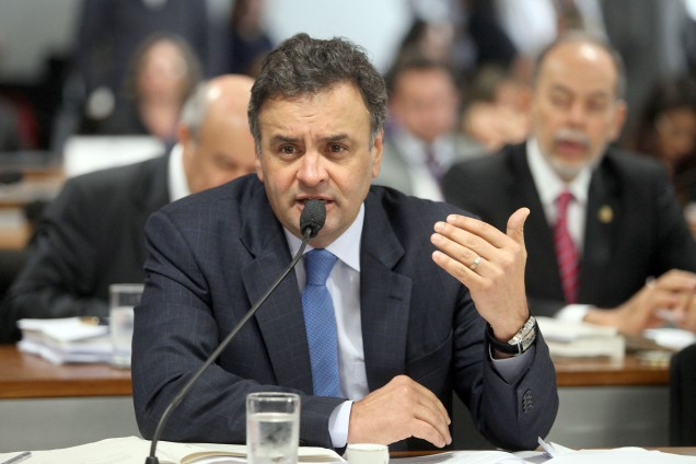 Aécio defendeu a aprovação de projeto de lei de sua autoria que inclui o Bolsa Família no conjunto de direitos sociais dos brasileiros. Foto George Gianni