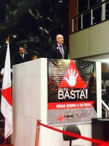 Toninho Andrada, prefeito de Barbacena e presidente da AMM