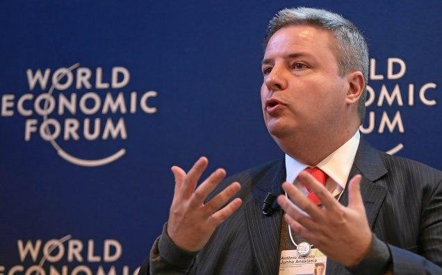 """O governador Anastasia foi um dos destaques do painel """"O novo Contexto da América Latina"""", realizado nesta quarta-feira na Suíça. Foto Divulgação - WEF"""