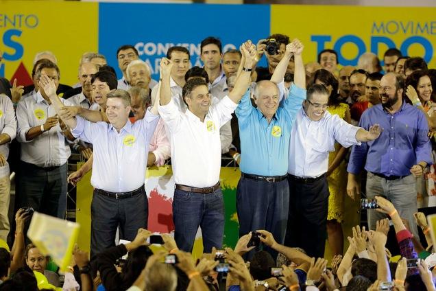 A convenção do PSDB-MG aconteceu na terça-feira; no sábado será realizada, em São Paulo, a convenção nacional do partido para escolha de Aécio Neves como candidato à presidência da República