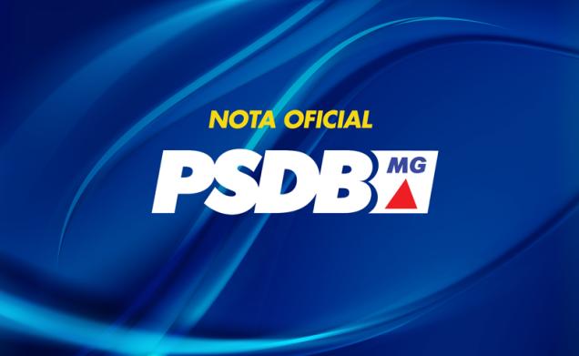 nota oficial psdb-mg