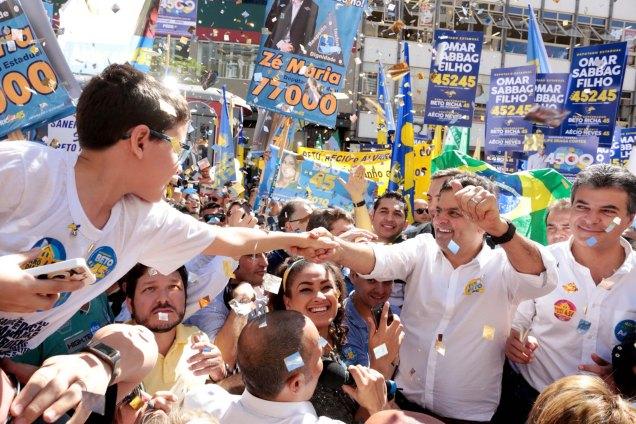 Fotos Orlando Brito/PSDB