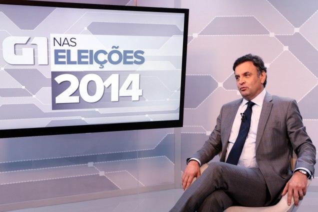 Aécio lembrou que a eficiência do governo será prioridade a exemplo do que foi feito em Minas. Foto Orlando Brito