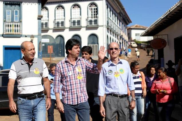 Em viagem à região Central, Dinis Pinheiro critica falta de investimento federal no setor. Foto Victor Schwaner