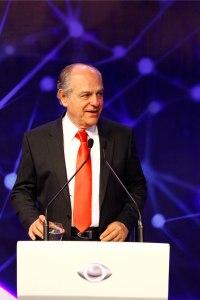 Pimenta da Veiga durante o debate na TV Bandeirantes. Foto Hugo Cordeiro