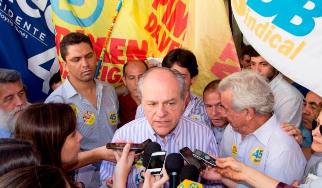 Pimenta da Veiga propõe conjunto de ações, aliando educação e segurança pública, no enfrentamento à criminalidade. Fotos Leo Lara