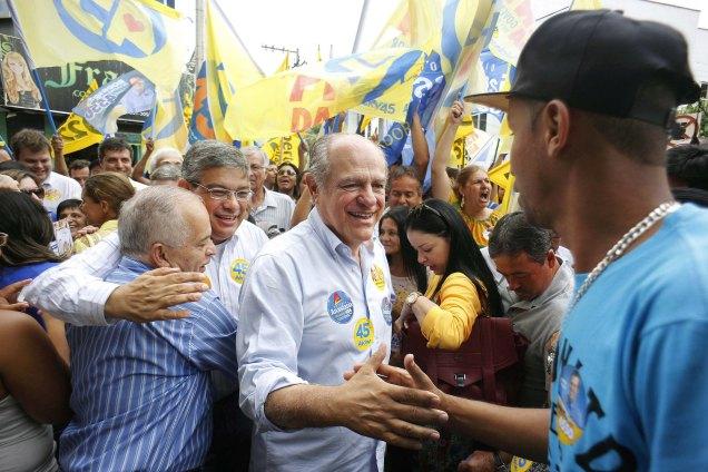 Pimenta da Veiga fez campanha em Ubá (foto), Manhuaçu e Caratinga