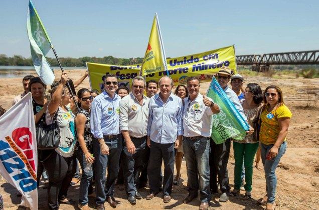Para Pimenta, rio da integração nacional  sofreu com obras bilionárias e inacabadas do governo federal