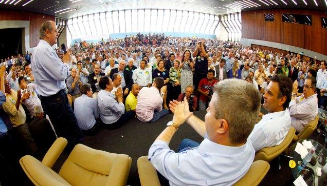 Encontro em BH contou com presença de 1.500 pessoas, entre elas 454 prefeitos, 223 ex-prefeitos e mais de 330 vice-prefeitos