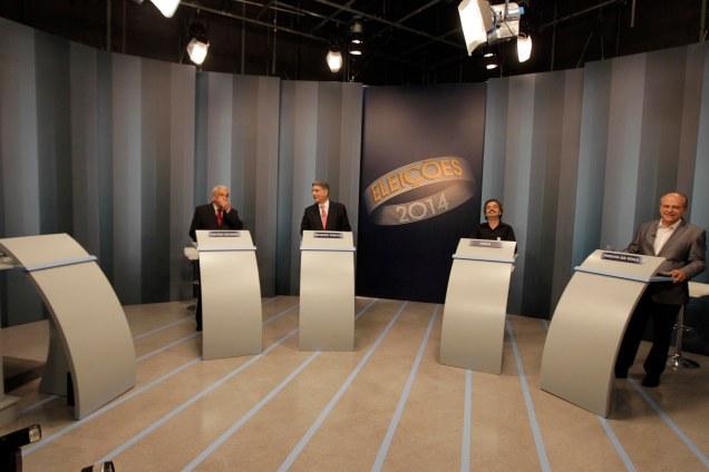 Em debate na TV Globo, petista evitou enfrentamento direto com Pimenta,  além de insistir em mentiras e omitir ações do PT que prejudicam Minas