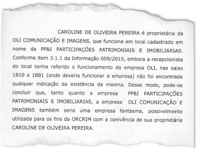 A PRIMEIRA-DAMA: Ministério Público Federal levanta a suspeita de que a mulher de Pimentel, Caroline Oliveira, seria dona de uma empresa fantasma ligada à organização criminosa comandada por Bené(VEJA.com/VEJA)