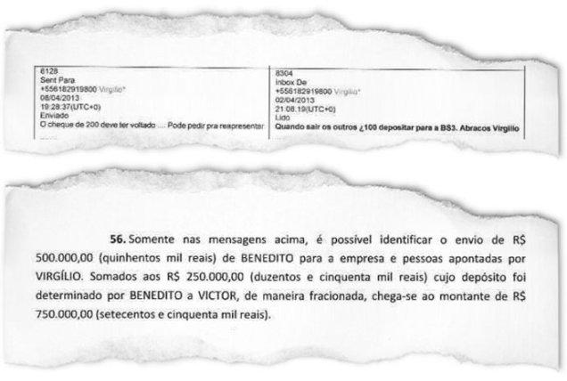 """VIRGÍLIO GUIMARÃES, O ONIPRESENTE: o ex-deputado petista apresentou Marcos Valério ao PT no mensalão; agora, ele aparece, segundo os investigadores, em """"sociedade dissimulada"""" com o operador Bené(VEJA.com/VEJA)"""