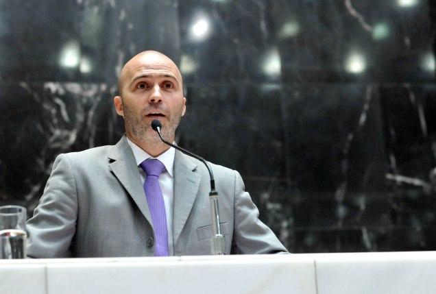 Gustavo Valadares, líder da Minoria na ALMG. Foto Willian Dias