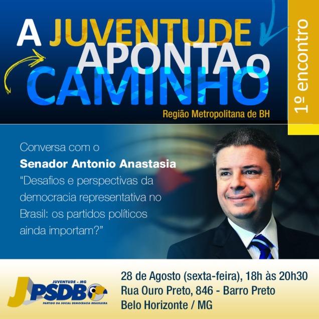 CONVITE _ A Juventude Aponta o Caminho (conversa com ANASTASIA)
