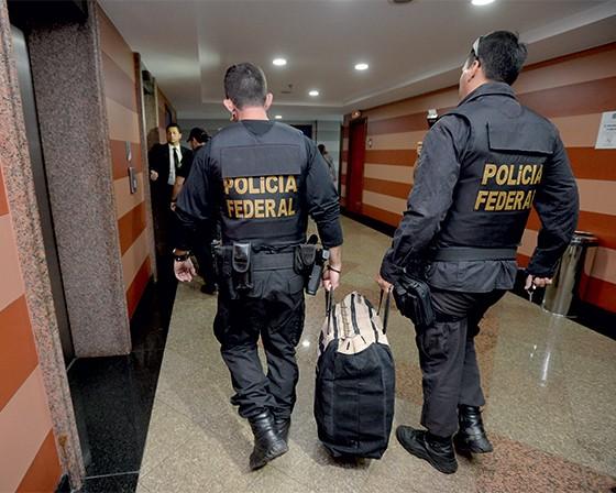 CASO DE PROCON A Polícia Federal faz busca na Pepper durante a Operação Acrônimo (Foto: Marcelo Ferreira/CB/D.A Press)