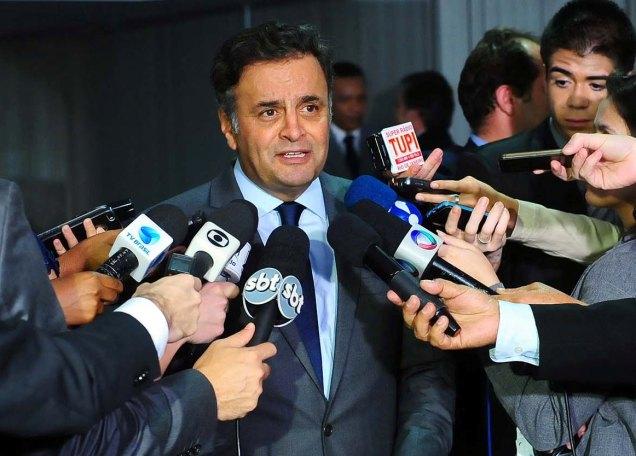 Aécio afirma que PSDB e governadores tucanos já se declararam contrários à volta da CPMF