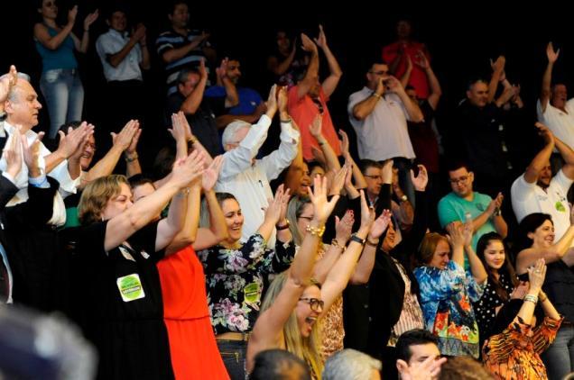 Representantes das lotéricas comemoraram a decisão nas galerias. Foto Luis Macedo/Ag.Câmara