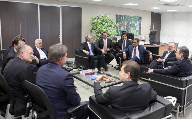 Líderes da oposição fizeram uma visita ao Tribunal de Contas da União (TCU)