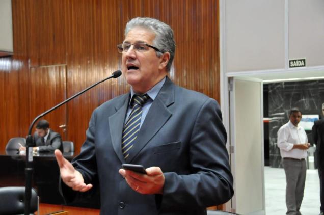 João Leite destacou o crescimento de 216% no endividamento da Copasa. Foto Pollyanna Maliniak/ALMG