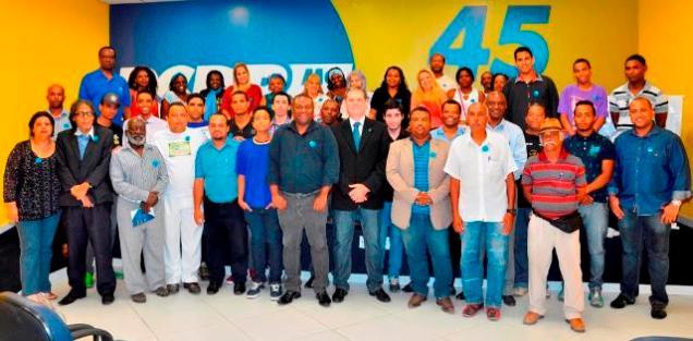 """As ações do """"Troque o Preconceito pela Vida"""" serão realizadas dentro da campanha Novembro Azul; a palestra do urologista Antônio Peixoto de Lucena Cunha foi a abriu a programação promovida pelo Tucanafro"""